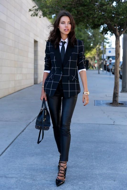 blazer-outfits-74 87+ Fresh Ways to Learn How to Wear a Blazer