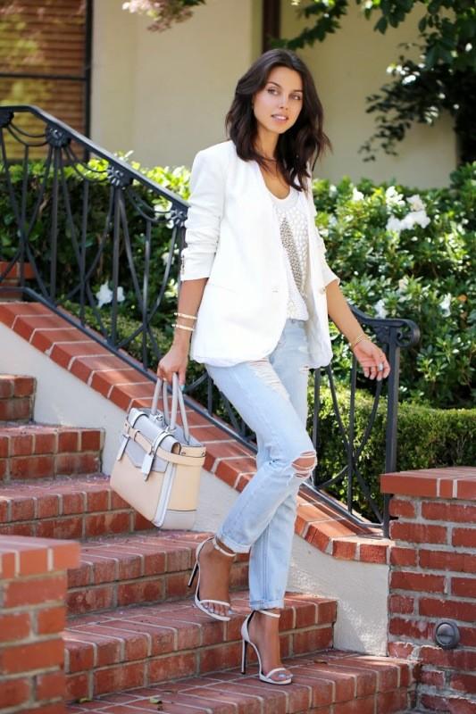 blazer-outfits-75 87+ Fresh Ways to Learn How to Wear a Blazer
