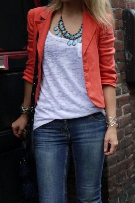 blazer-outfits-80 87+ Fresh Ways to Learn How to Wear a Blazer