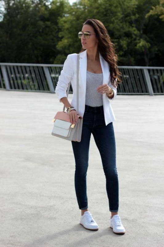 blazer-outfits-85 87+ Fresh Ways to Learn How to Wear a Blazer