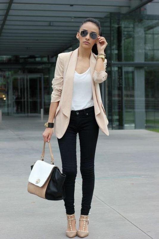 blazer-outfits-92 87+ Fresh Ways to Learn How to Wear a Blazer