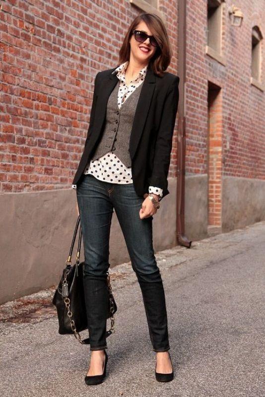 blazer-outfits-94 87+ Fresh Ways to Learn How to Wear a Blazer