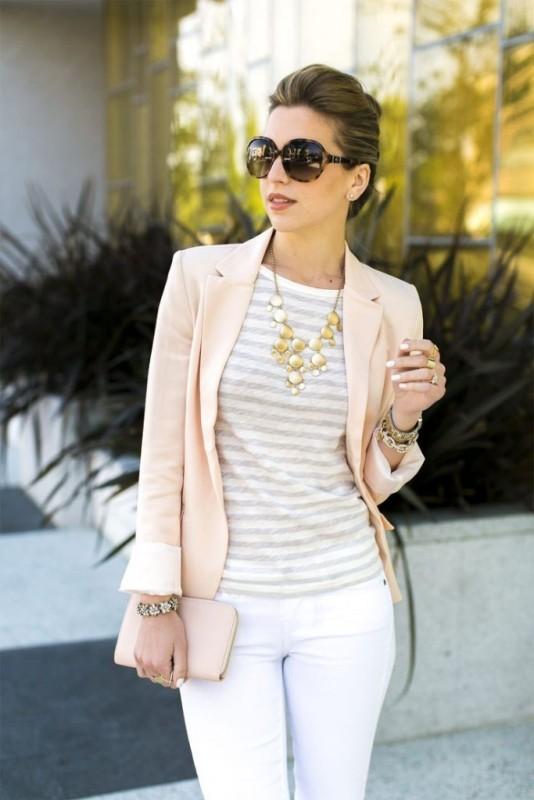 blazer-outfits-97 87+ Fresh Ways to Learn How to Wear a Blazer