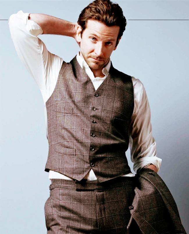 bradley-cooper-in-checkered-waistcoat-and-trousers-all-people-photo-u1 15 Male Celebrities Fashion Trends for Summer 2020