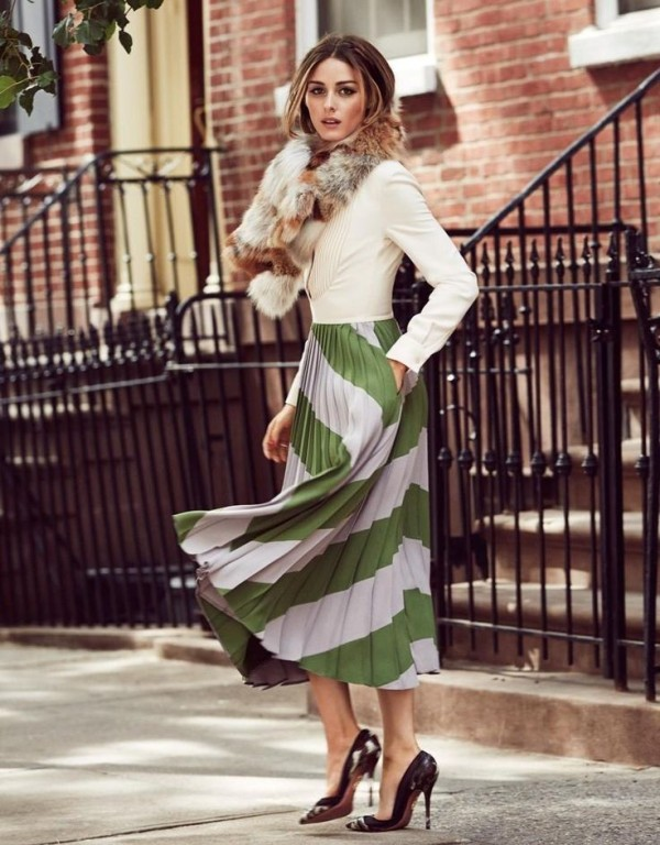 celebrities-in-striped-outfits-16 77+ Elegant Striped Outfit Ideas and Ways to Wear Stripes