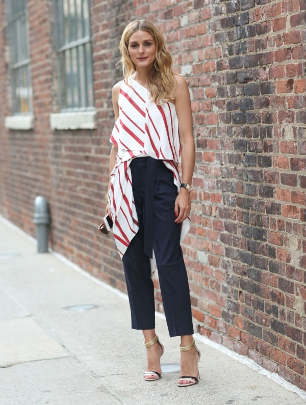 celebrities-in-striped-outfits-17 77+ Elegant Striped Outfit Ideas and Ways to Wear Stripes in 2018