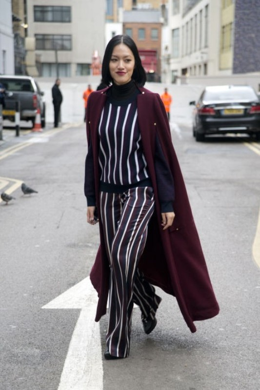celebrities-in-striped-outfits-2 77+ Elegant Striped Outfit Ideas and Ways to Wear Stripes in 2018