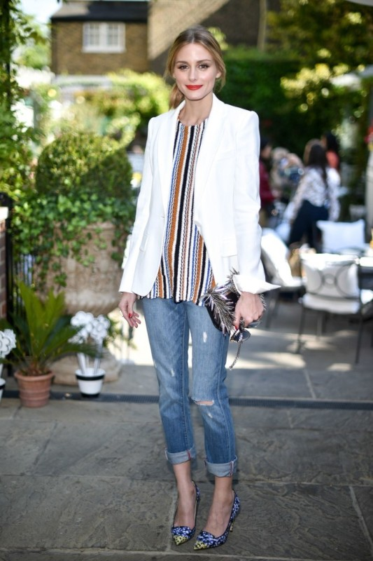 celebrities-in-striped-outfits-7 77+ Elegant Striped Outfit Ideas and Ways to Wear Stripes in 2018