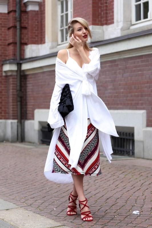 chevron-stripes-6 77+ Elegant Striped Outfit Ideas and Ways to Wear Stripes