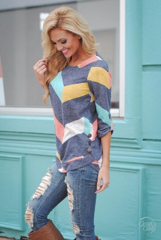 chevron-stripes-8 77+ Elegant Striped Outfit Ideas and Ways to Wear Stripes