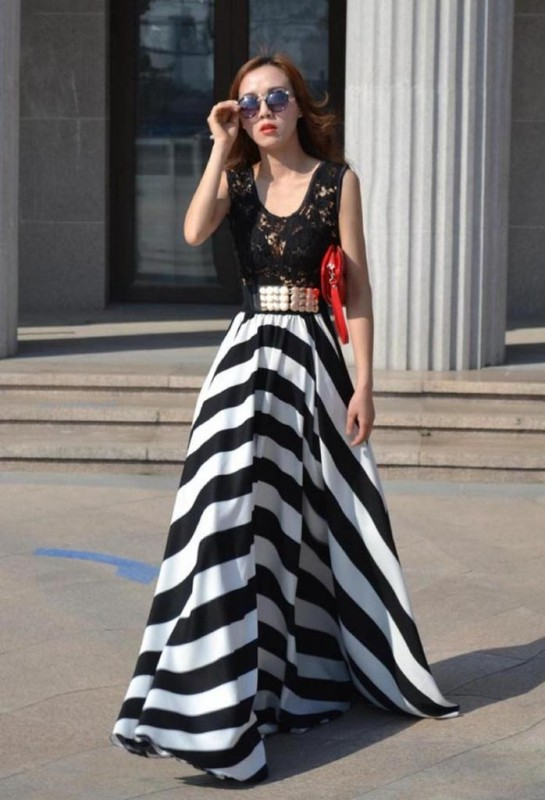 chevron-stripes-9 77+ Elegant Striped Outfit Ideas and Ways to Wear Stripes in 2018