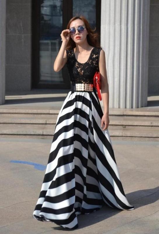 chevron-stripes-9 77+ Elegant Striped Outfit Ideas and Ways to Wear Stripes