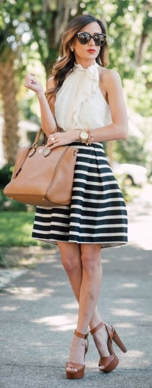 classic-stripes-1 77+ Elegant Striped Outfit Ideas and Ways to Wear Stripes in 2018