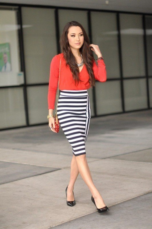 classic-stripes-14 77+ Elegant Striped Outfit Ideas and Ways to Wear Stripes in 2018