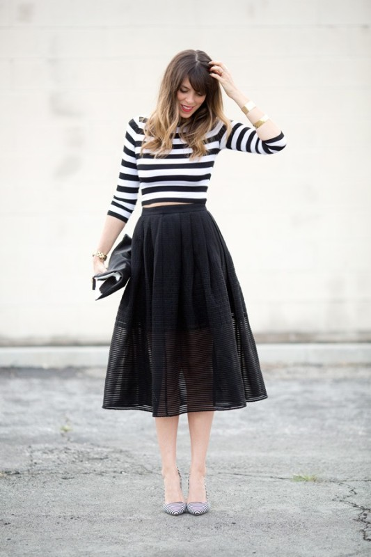 classic-stripes-15 77+ Elegant Striped Outfit Ideas and Ways to Wear Stripes in 2018