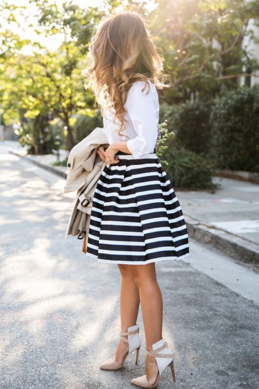 classic-stripes-16 77+ Elegant Striped Outfit Ideas and Ways to Wear Stripes in 2017