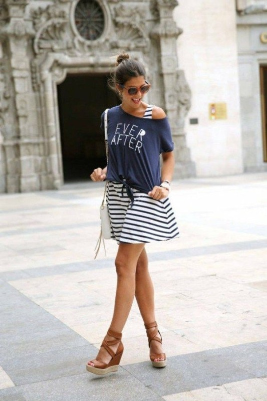 classic-stripes-17 77+ Elegant Striped Outfit Ideas and Ways to Wear Stripes in 2017