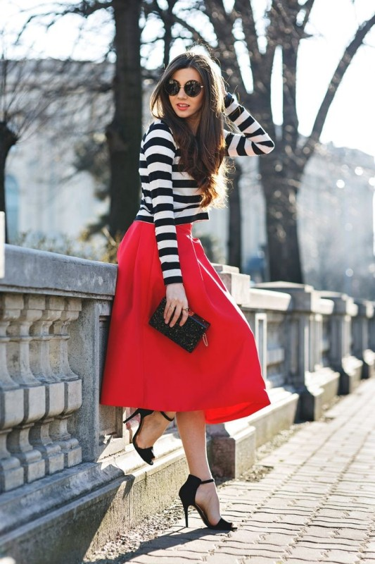 classic-stripes-19 77+ Elegant Striped Outfit Ideas and Ways to Wear Stripes in 2018