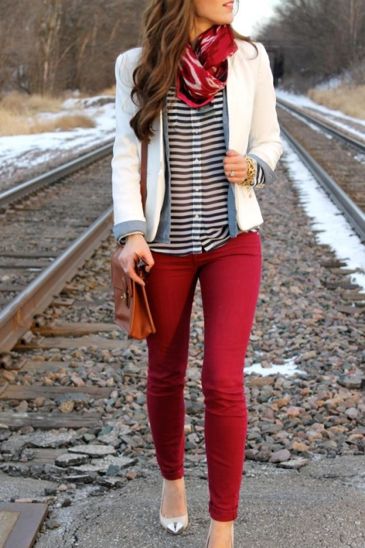 classic-stripes-25 77+ Elegant Striped Outfit Ideas and Ways to Wear Stripes in 2018