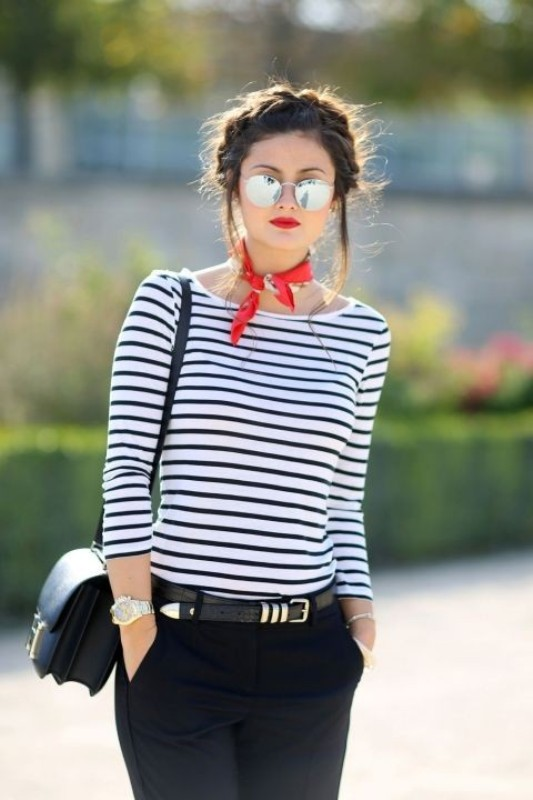classic-stripes-26 77+ Elegant Striped Outfit Ideas and Ways to Wear Stripes in 2018