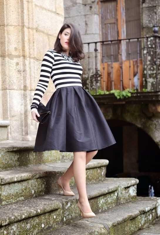 classic-stripes-29 77+ Elegant Striped Outfit Ideas and Ways to Wear Stripes in 2017