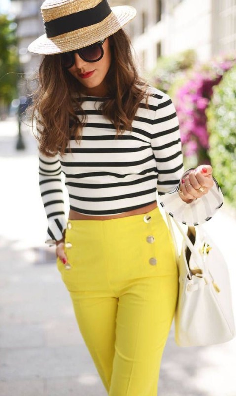 classic-stripes-5 77+ Elegant Striped Outfit Ideas and Ways to Wear Stripes in 2018