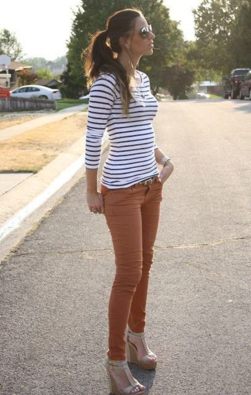 classic-stripes-6 77+ Elegant Striped Outfit Ideas and Ways to Wear Stripes in 2018