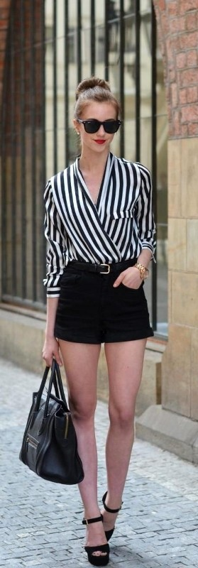 classic-stripes 77+ Elegant Striped Outfit Ideas and Ways to Wear Stripes in 2017