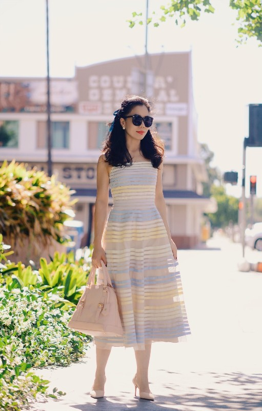 colorful-stripes-1 77+ Elegant Striped Outfit Ideas and Ways to Wear Stripes