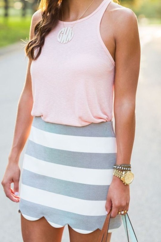 colorful-stripes-11 77+ Elegant Striped Outfit Ideas and Ways to Wear Stripes in 2018