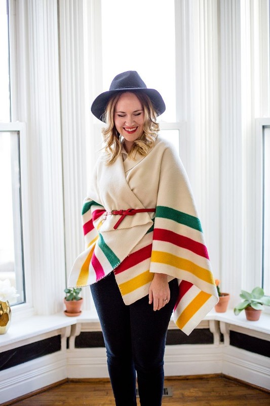 colorful-stripes-15 77+ Elegant Striped Outfit Ideas and Ways to Wear Stripes