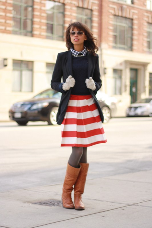 colorful-stripes-17 77+ Elegant Striped Outfit Ideas and Ways to Wear Stripes in 2018
