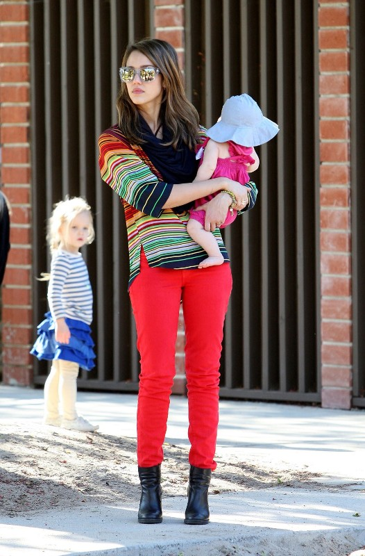 colorful-stripes-2 77+ Elegant Striped Outfit Ideas and Ways to Wear Stripes