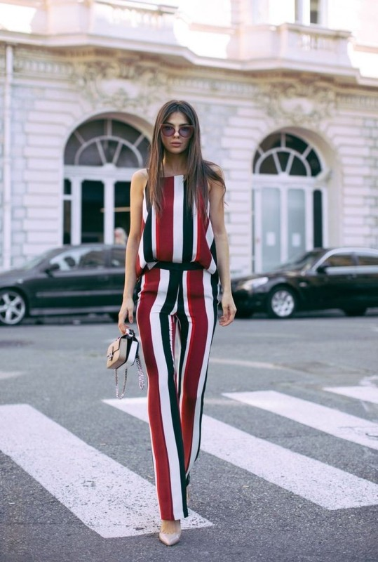 colorful-stripes-21 77+ Elegant Striped Outfit Ideas and Ways to Wear Stripes in 2017