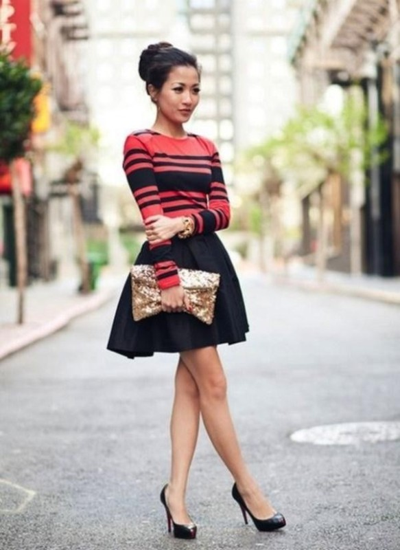 colorful-stripes-24 77+ Elegant Striped Outfit Ideas and Ways to Wear Stripes
