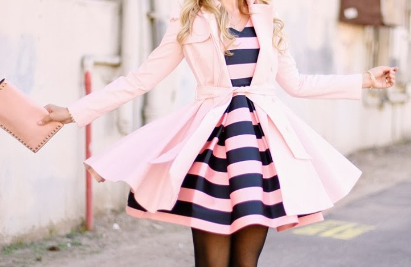 colorful-stripes-26 77+ Elegant Striped Outfit Ideas and Ways to Wear Stripes in 2018