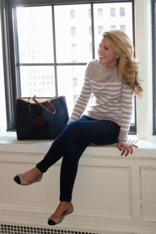 colorful-stripes-5 77+ Elegant Striped Outfit Ideas and Ways to Wear Stripes