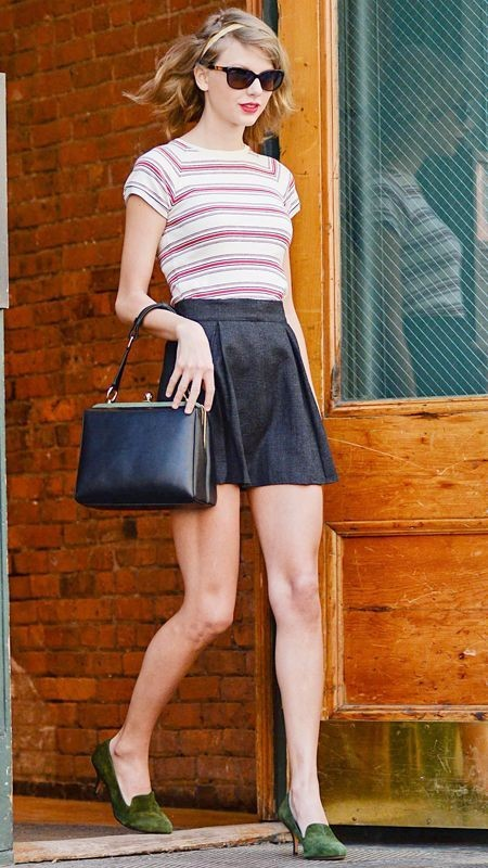 colorful-stripes 77+ Elegant Striped Outfit Ideas and Ways to Wear Stripes