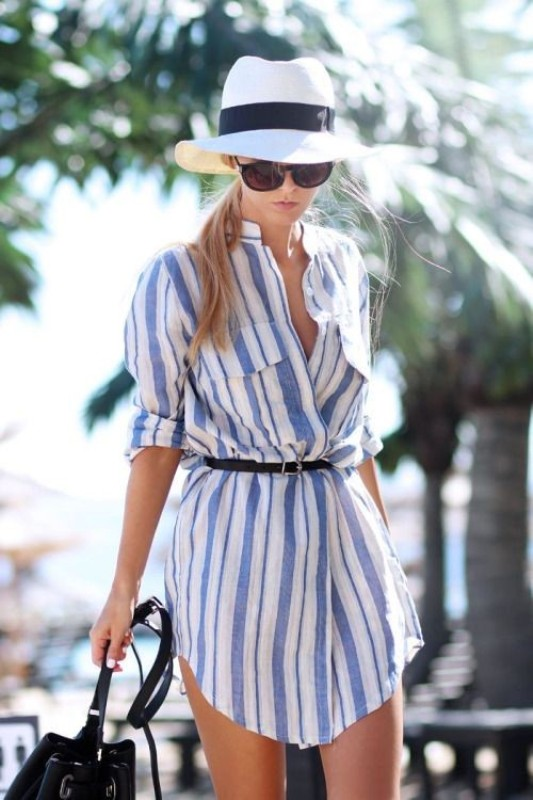 completely-striped-outfits-10 77+ Elegant Striped Outfit Ideas and Ways to Wear Stripes in 2018