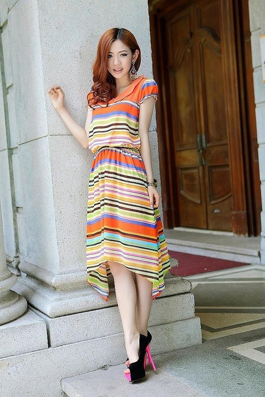 completely-striped-outfits-15 77+ Elegant Striped Outfit Ideas and Ways to Wear Stripes