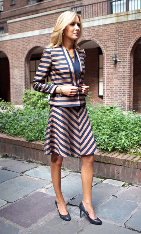 completely-striped-outfits-2 77+ Elegant Striped Outfit Ideas and Ways to Wear Stripes