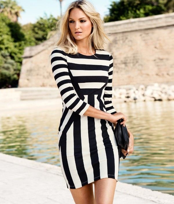 completely-striped-outfits-22 77+ Elegant Striped Outfit Ideas and Ways to Wear Stripes in 2018