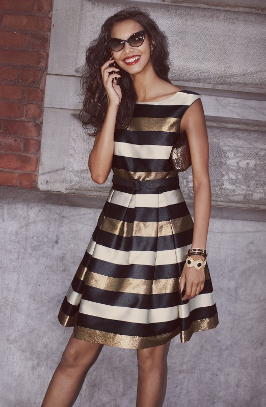 completely-striped-outfits-6 77+ Elegant Striped Outfit Ideas and Ways to Wear Stripes