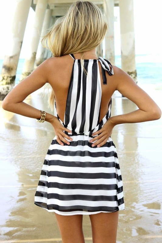 completely-striped-outfits-7 77+ Elegant Striped Outfit Ideas and Ways to Wear Stripes in 2018