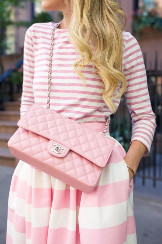 completely-striped-outfits-8 77+ Elegant Striped Outfit Ideas and Ways to Wear Stripes in 2018