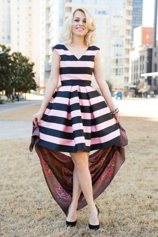 completely-striped-outfits-9 77+ Elegant Striped Outfit Ideas and Ways to Wear Stripes