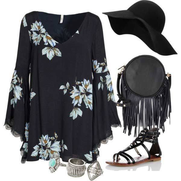 floral-outfits-102 84+ Breathtaking Floral Outfit Ideas for All Seasons 2018