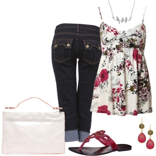 floral-outfits-104 84+ Breathtaking Floral Outfit Ideas for All Seasons 2018