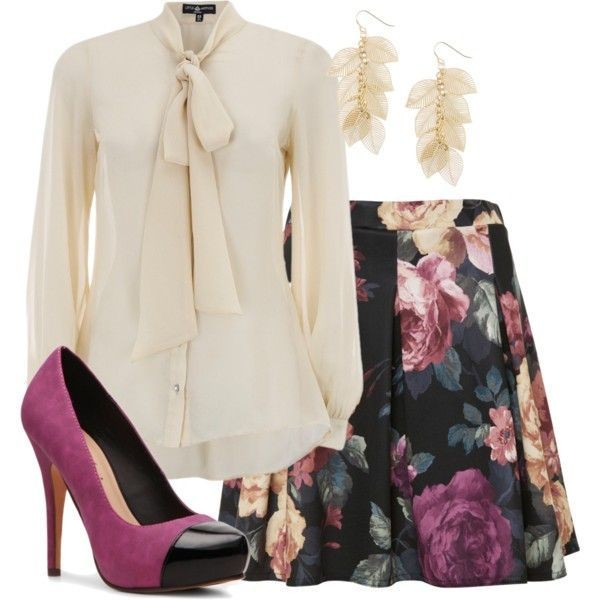 floral-outfits-108 84+ Breathtaking Floral Outfit Ideas for All Seasons 2018