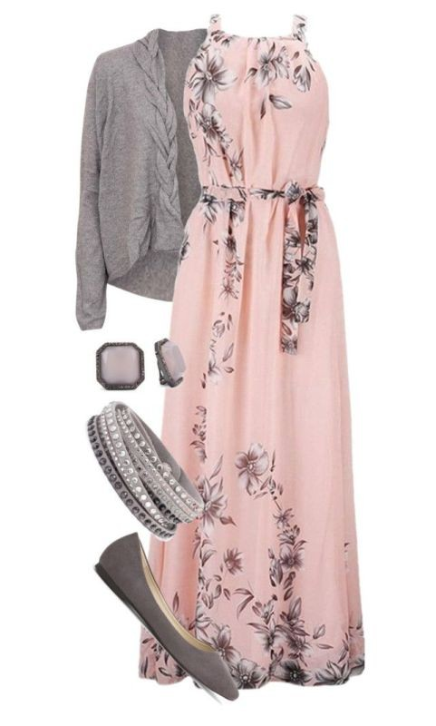 floral-outfits-11 84+ Breathtaking Floral Outfit Ideas for All Seasons 2018